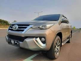 Toyota Fortuner VRZ AT 2016 (Matic-Diesel) km52rb record Nopol pilihan