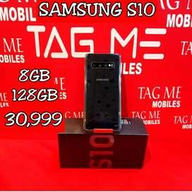 TAG ME SAMSUNG S10 128GB 8GB RAM