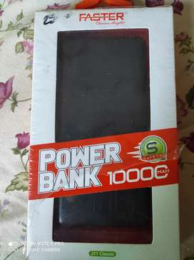 Faster Power Bank 10000 MAH For Sale