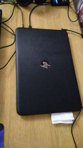 Black Hp gaming laptop core i7 6th generation with dedicated graphics