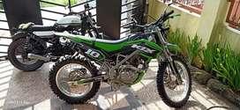 KLX 150 CC, Hijau, Type LX150F