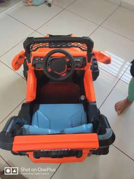Toy car to use for the childrens car rase