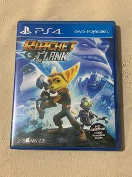 Ratchet & Clank (CD / Kaset Game PS4)