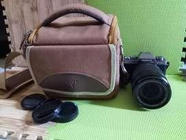Kamera Mirrorless Fujifilm X-T100 masih normal siap pakai
