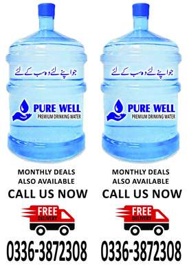 Mineral water at your door step