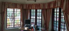 Used curtain with fittings