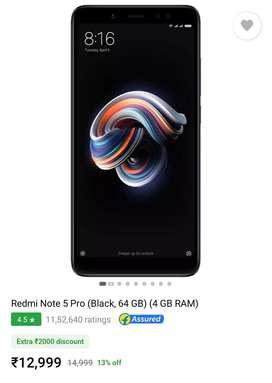 Xiaomi Redmi Note 5 Pro (4/64GB). Perfect condition.