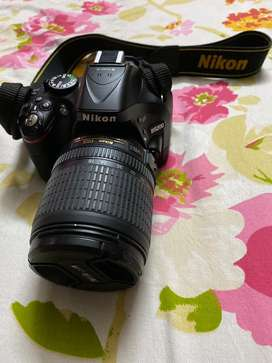 Nikon D5200 with 18-105 kit lens dslr camera
