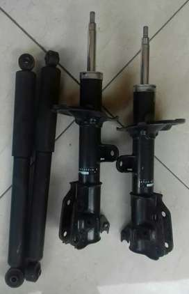 Shockbreaker Ori Terios/Rush.2Set Dpn-Blk.Normal Bagus(Copotan)