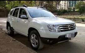 Renault Duster, 6years old, white, 55,000km