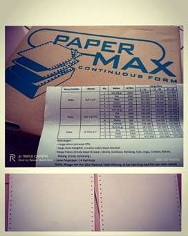 Kertas Continuous Paper Form Good Quality