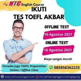 TES TOEFL KOLEKTIF ONLINE MURAH