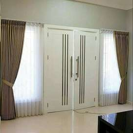Gorden Minimalis Rumah Kantor Apartemen Hordeng Korden Gordyn VitraseG