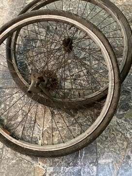 wheelset araya 26 x 1.50