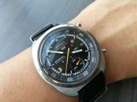 Ori 1970 Seiko Jengkol 6139 Chronograph 5 sports speedtimer omega tag