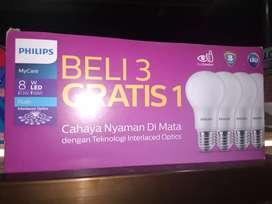 Philips LED MyCare 8w (Beli 3 Gratis 1)