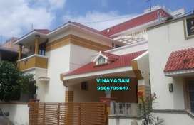 FABULOUS LOOKING BUNGALOW for sale at VADAVALLI --Vinayagam--90 Lakhs
