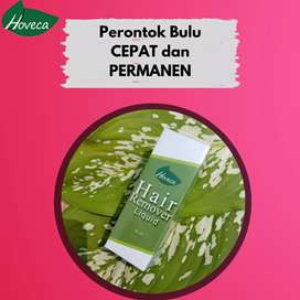 Herbal hoveca penghilang bulu