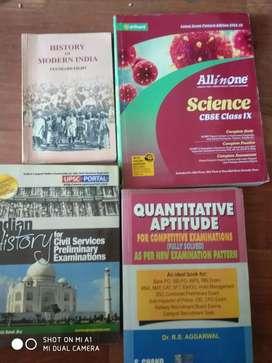 Upsc cbse board class 10 science maths English social science novels