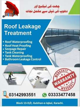 Roof Water proofing Roof Heat Proofing Bathroom Leakage CONTROL