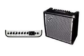 Electric guitar cube steel body 20 Amp. ZAR comany