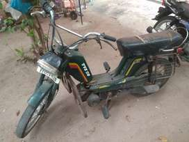 TVS 50 old model. In good running condition.
