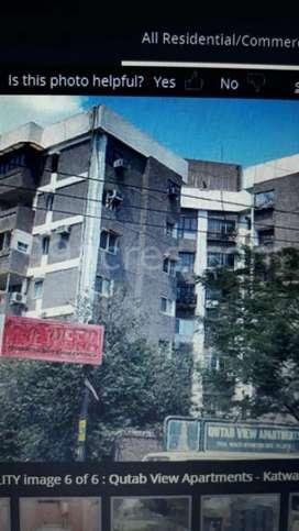 2bhk flats d. D. A. Flats in katwaria sarai near market