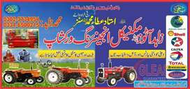 Tractors Engine Parts Available