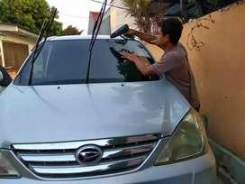 Pemasangan kaca film mobil/gedung, panggilan se JADETABEK