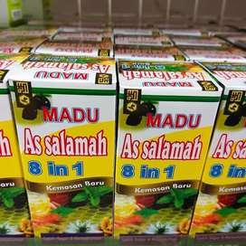 Madu As-Salamah 8 In 1. Madu As-Salamah Plus Propolis 4 In 1