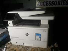 HP laserJet xerox machine neat and good working conditions