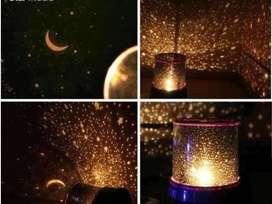 Lampu dengan star music