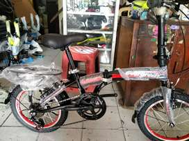 Sepedah lipat size 16 murah 7 sped