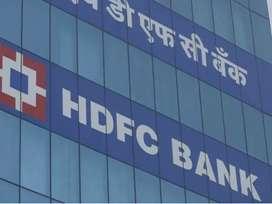 Job requirement in hdfc bank