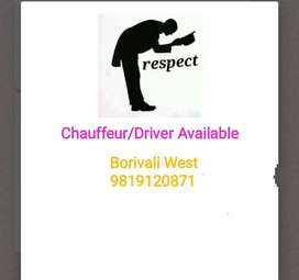 Chauffeur Available