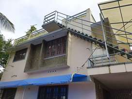 Upstair 2 BHK house for rent small family Rs. 9000 at Maradu
