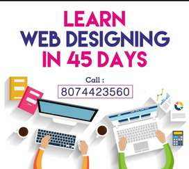 Online classes for Web Designing course