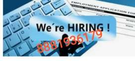 Data typer required as part time job..