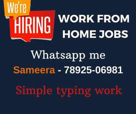 Data Entry Jobs for Students,Housewife's and others. Limited Vacancies