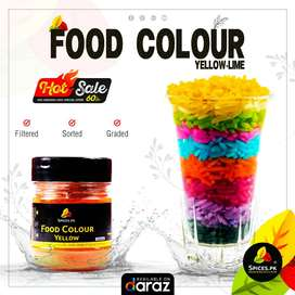 Food Colour Yellow (Lime) - Spices.pk