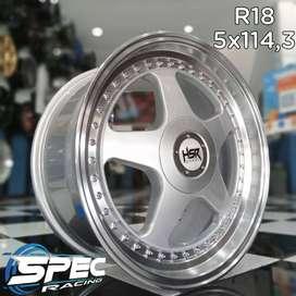 Jual Velg Mobil Mazda CX5 Racing R18 HSR Di Toko Velg Mobil Medan