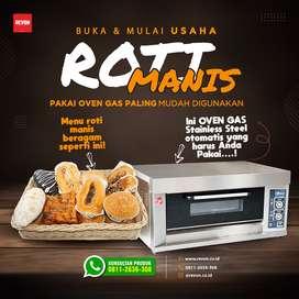 oven gas otomatis untuk pengusaha roti & kue pemula di Jayapura