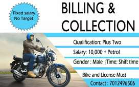Billing and Collection duty