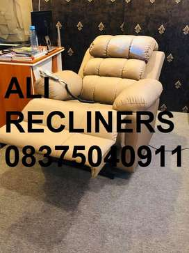 Brand New Recliners in Brown and Black color, Imported Recliner Sofa