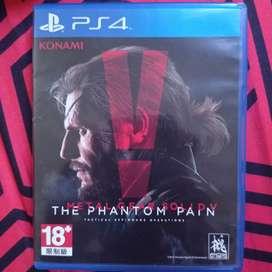 BD Kaset PS4 Metal Gear Solid V The Phantom Pain