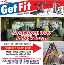 Best Used Treadmill Selling in All over Karachi In Less price less Use
