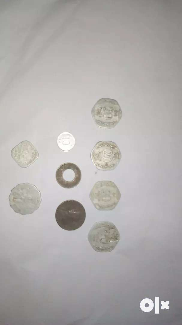 Old coins of ancient times 0