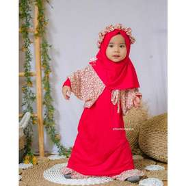 gamis anak muslim - fiola dress - dress anak lucu branded