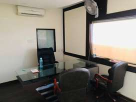 Fully furnished ready to move in office available at kuber complex