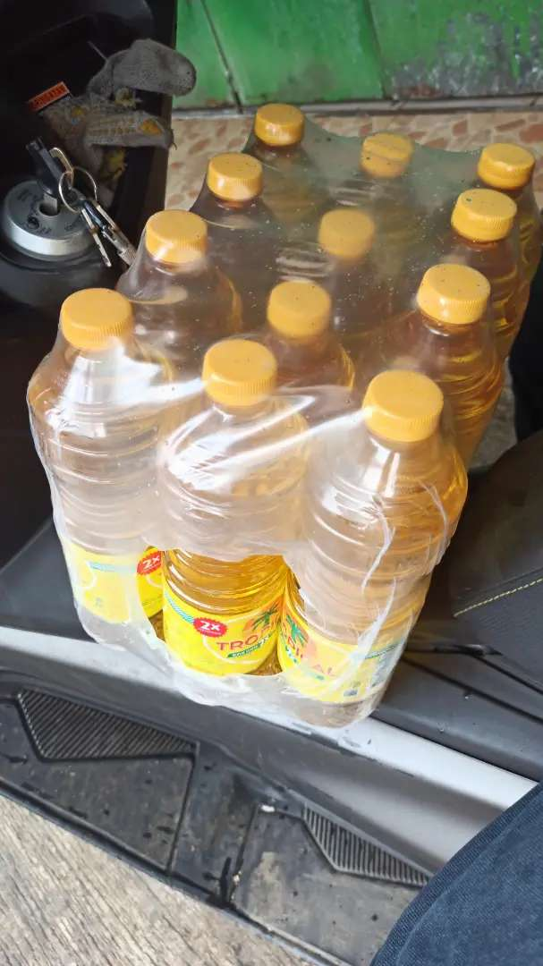 Minyak goreng tropical botol 1 liter